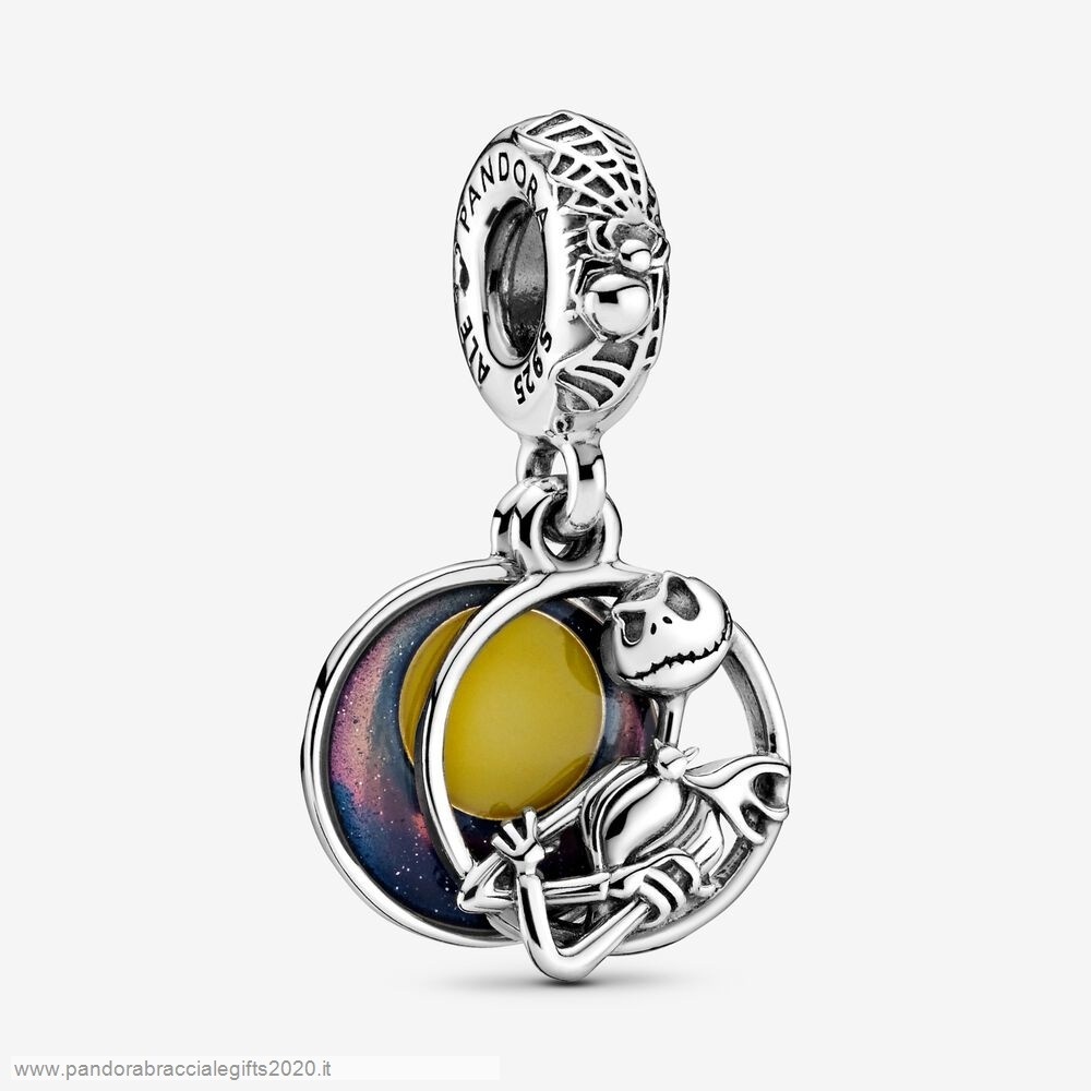 Saldi Pandora Shop Disney Nightmare Before Christmas Double Dangle Charm
