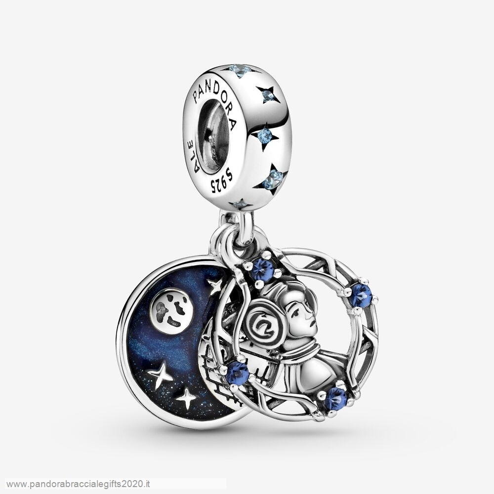 Saldi Pandora Shop Guerre Stellari Princess Leia Double Dangle Charm